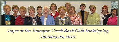 Julington Creek Book Club booksigning photo