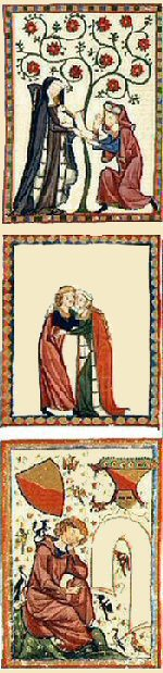 details from the Codex Manesse image 2