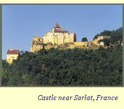 castle near Sarlat, France