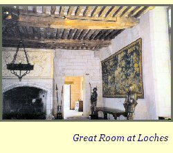Great room at Loches